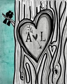 I could zentangle a tree for the invitations...
