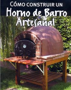 Horno de barro Clay Pizza Oven, Pizza Oven Fireplace, Oven Diy, Make Your Own Pizza, Outdoor Projects, Outdoor Decor, Four A Pizza, Outdoor Oven, Fire Pizza