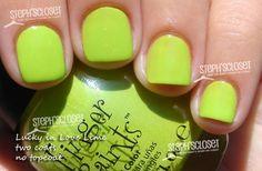 fingerpaints lucky in love lime - brand new - $2