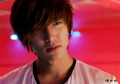 lee min ho, city hunter. His hair was a little bit out of control.(in my opinion at least)