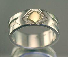 Hommes Femmes 9 mm Argent 925 Marquise Turquoise Celtique Noeud Style Vintage Ring Band