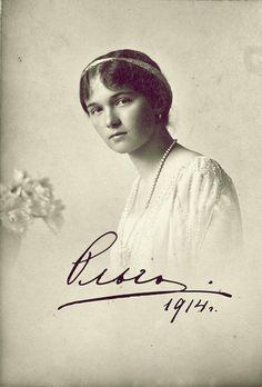 Olga, 1914