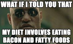 The red pill tastes better and helps me lose weight! #keto #lchf #lowcarbs #diet