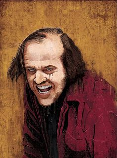 """Items similar to The Shining's """"Dull Boy"""" - signed and dated art print poster on Etsy Movie Poster Art, Poster On, Art Posters, Print Poster, Indie Art, Mixed Media Artwork, Movie Wallpapers, The Shining, Local Artists"""