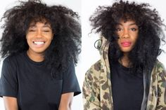 Sza's Easy Eye and Lip Look via @ELLE Magazine (US)