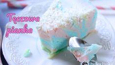 Ciasto tęczowa pianka