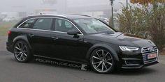 Audi RS 4 Avant B9 Spied Near Nurburgring
