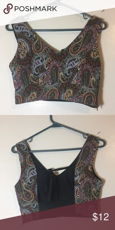 b8079c981bf6 F21 CROP TOP Open back crop tank. In great condition! Forever 21 Tops Crop