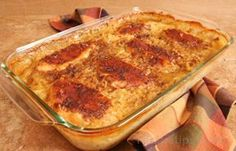 Chicken & Rice Casserole My kids love this dish. I do not use onion soup mix though. I add a stick of butter. I also use pork chops instead of chicken sometimes. Easy Chicken Rice Casserole, Easy Chicken And Rice, Casserole Recipes, Pork Chop Rice Casserole, Casserole Dishes, Good Food, Yummy Food, Yummy Recipes, Recipies