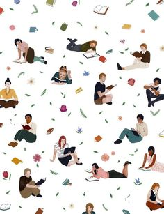 Spring Reading by Jeannie Phan