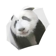 Panda Bear Foldable Umbrella. FREE Shipping. FREE Returns. #umbrellas #panda