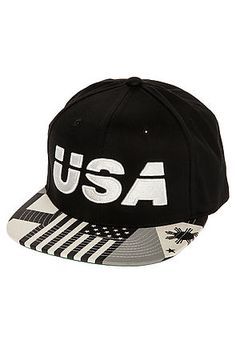The USA Snapback Hat in Black by 10 Deep Snapback Hats 74fbd036b50d