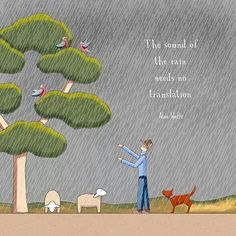 Rain is a good thing Red Tractor, Country Farm, Great Words, Farm Life, Art Ideas, Rain, Kids Rugs, Wisdom, Comics