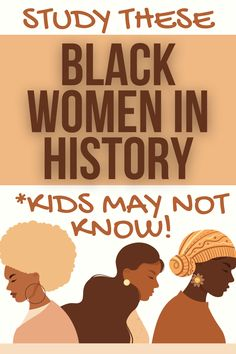Study African American women in history for Black History Month, Women in History Month lessons, or history lessons for kids. #blackhistory #womeninhistory #lessons #homeschooling Teacher Lesson Plans, Free Lesson Plans, Preschool Lesson Plans, Lesson Plan Templates, History Lessons For Kids, Bible Lessons For Kids, Teaching Writing, Teaching Tips, Women In History