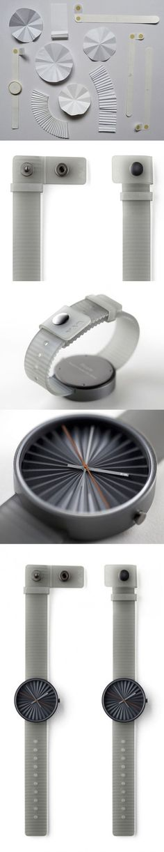 Benjamin Hubert Creates Innovative Luxury Plicate Watch for Nava. Innovation, Watches, Luxury, Design, Products, Wrist Watches, Wristwatches, Tag Watches, Watch