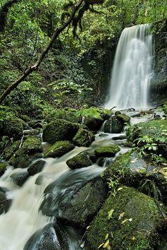 Matai Falls, Aoraki/Mount Cook National Park, New Zealand.  Photo: Joshua Cripps via Flickr.