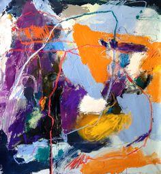 THE CHASE   Taylor O. Thomas   Art . Writing . Visual Stories #art #story #expressionism #contemporaryartist #abstraction #mixedmedia #painting #gesture #tot #taylorothomas