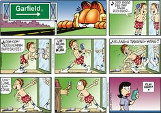 Garfield on Gocomics.com  May 1, 2011