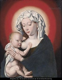 The Madonna And Child 2 - (after) Cleve, Joos van