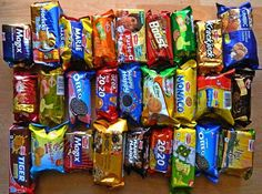 Buy Online cadbury oreo vanilla, good day chocochips, kinhdo creamity strawberry flavour rolls, parle happy happy choco chip cookies and britannia bourbon biscuits from our online grocery shopping store and more grocery items in gurgaon.