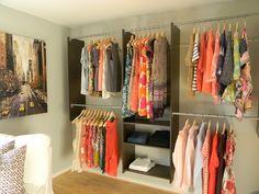 quarta de quartos: araras de roupas | DeCoração Blog