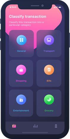 Dribbble - by Prakhar Neel Sharma Android App Design, Ios App Design, Mobile App Design, Interface Design, Mobile Web, Web Design Color, Mobile Application Design, App Design Inspiration, Software