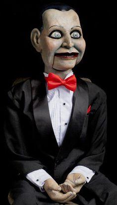 DEAD SILENCE BILLY MOVIE PROP HORROR PUPPET HAUNTED DUMMY DOLL Ventriloquist in Dolls & Bears, Dolls, Art Dolls-OOAK   eBay!