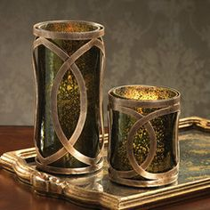 Madera Hurricane - Olive Green & Antique Gold