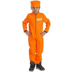 Kids Prisoner Costume  Size Small 46 *** Check this awesome product by going to the link at the image.
