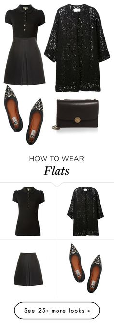 """Untitled #221"" by elitsagospodin on Polyvore featuring Burberry, Lanvin, Chloé and Marc Jacobs"