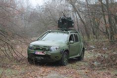 Dacia Duster Army1.5 dCi 110 HP 4×4, 7.62mm machine gunAutor Foto: Adrian Iuzic - Revista Forțelor Terestre