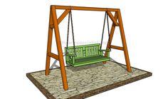 build porch swing frame / build porch swing _ build porch swing bed _ build porch swing frame _ build porch swing stand _ how to build a porch swing _ porch swing plans how to build _ diy porch swing bed how to build _ diy porch swing plans how to build Wooden Swing Frame, A Frame Swing Set, Porch Swing Frame, Lawn Swing, Swing Set Plans, Diy Swing, Bench Swing, Wood Swing, Patio Swing