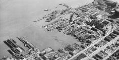 San Francisco ship building early 1900's