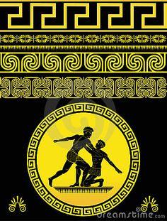 Greek Pattern by Jaeeho, via Dreamstime