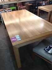BELOW COST - Solid Tasmanian Oak Dining Table - 2400mm