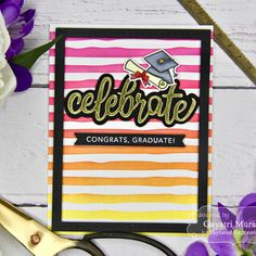 Welcome to Taylored Expressions, a paper crafting store that sells stamps, dies, stencils and more to help you share joy through your handmade cards! Graduation Cards, Cricut Creations, Embossing Folder, Craft Stores, Making Ideas, Brushes, Script, Card Ideas, Stencils