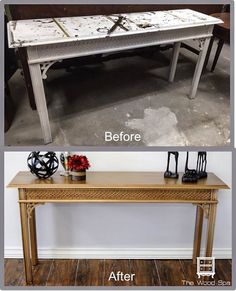 Before & After Gallery The Wood Spa by Pat Rios
