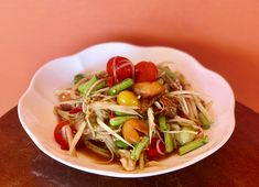 Healthy Thai Recipes, Japchae, Spaghetti, Ethnic Recipes, Food, Meals, Yemek, Noodle, Eten