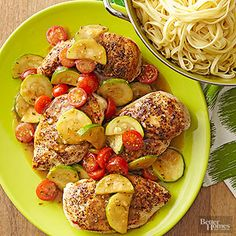 Boneless chicken breasts are among the quickest-cooking cuts around. A few fresh touches, including a garlic-laced rosemary sauce, take this recipe well beyond the ordinary.