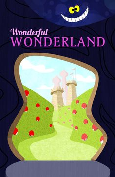 Wonderful Wonderland Disney Travel poster perfect for Project Life See more info: http://capturingmagic.me/DisneyProjectLife