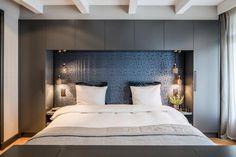 Image of: cozy bedroom design modern bedroom cozy bedroom ideas wood headboard southern living 37 Bedroom Green, Cozy Bedroom, Home Decor Bedroom, Modern Bedroom, Bedroom Furniture, Bedroom Ideas, Trendy Bedroom, Bedroom Wall, Master Bedroom Design