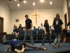 Youth Drama - How He Loves Us - First Baptist Church Youth Retreat Ideas, Youth Bible Study, Drama Education, Youth Group Games, Youth Club, Praise Dance, Church Activities, How He Loves Us, Youth Ministry