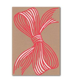 red bow card at Beau Ideal