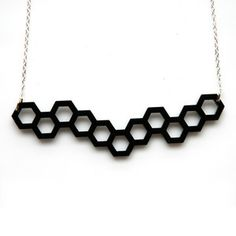 Hexagonal Necklace, $24, now featured on Fab.