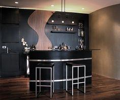 Bar Design Ideas For Home decorationsluxury modern mini home bar designs ideas with chrome legs bar stools also black 1000 Ideas About Home Bar Designs On Pinterest Home Bars Bar Designs And Basement Bars