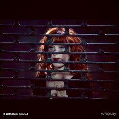 l ♕Verified account @RuthieConnell So @jensenackles got me behind bars... @cw_supernatural hehe! #nextweek #thebadseed #Rowena