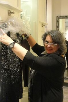 On Monday, October 7th, six lucky Youville Centre graduates got the chance to try on some glamourous gowns at Shepherd's Fashions! In preparation for our long running fashion show fundraiser with Marlene Shepherd (which was on October 22), our alumnae tried on cocktail dresses and formal evening wear, all in an effort to choose the perfect outfit in which to walk the runway at the event.