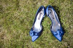 perfect for a little something blue! Royal Blue Bouquet, Royal Blue Wedding Shoes, Blue Yellow Weddings, Blue Silver Weddings, Blue Bridal Shoes, Royal Blue Flowers, Blue And Silver, Wedding Things, Wedding Stuff