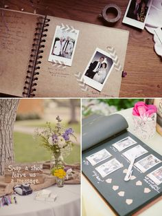 Che bello è il guestbook con le polaroid??!