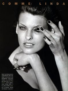 Linda by Peter Lindbergh, 1992